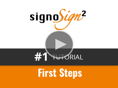 English Tutorial Videos © signotec GmbH