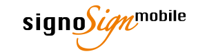 signoSign/mobile Logo © signotec GmbH