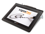signotec Delta integrated stand