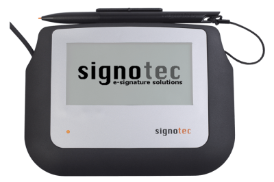 signotec Sigma Signature Pad - with Backlight © signotec GmbH
