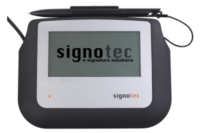 signotec Sigma Signature Pad - without Backlight © signotec GmbH