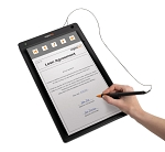 signotec Signature Pad Alpha - in action