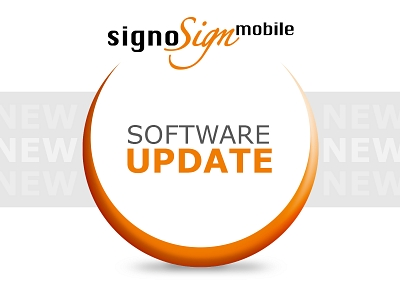 Update signoSign/mobile©signotec GmbH