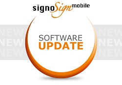 Update signoSign/mobile