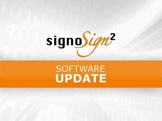 Preview Update signoSign2©signotec GmbH