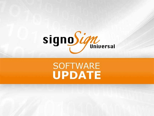 Update signoSign/Universal Preview Picture © signotec GmbH